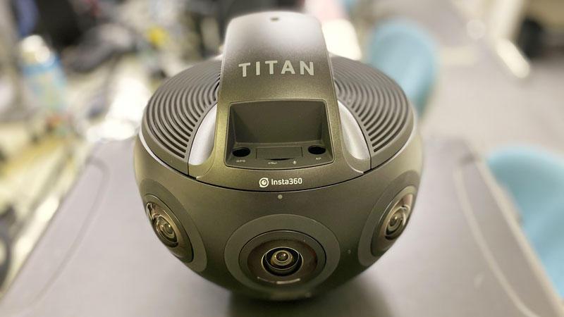 【Nakasha for the Future】【360°映像技術の活かし方・ノウハウ vol.9】プロ用360カメラInsta360 TITANを試す!