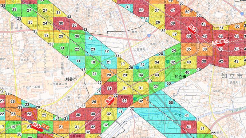 【地図・GIS】ヒストリカルハザードマップ