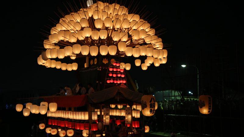 ユネスコ無形文化遺産の須成祭宵祭に行きました