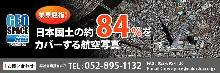 【地図・GIS】NTT空間情報GEOSPACE