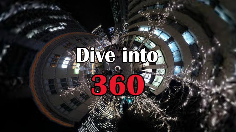360°パノラマ映像コンテンツ