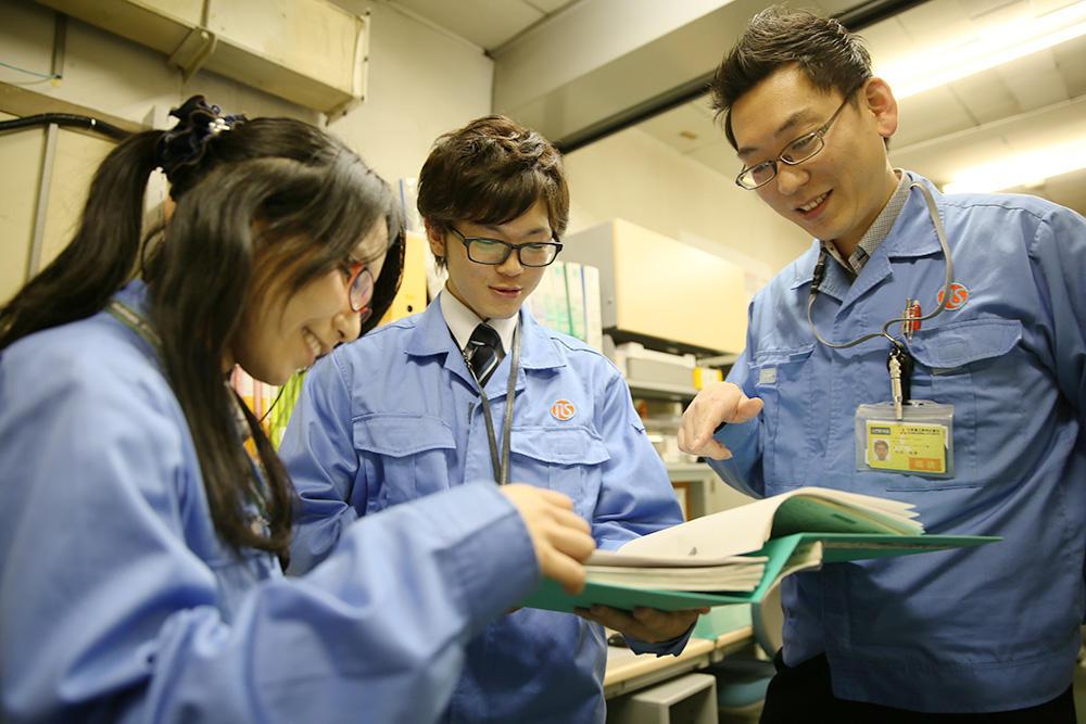 旅客機の組立作業工程に関わる仕事